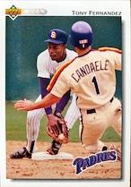 MLBカード 92UPPERDECK Tony Fernandez #272 PADRES