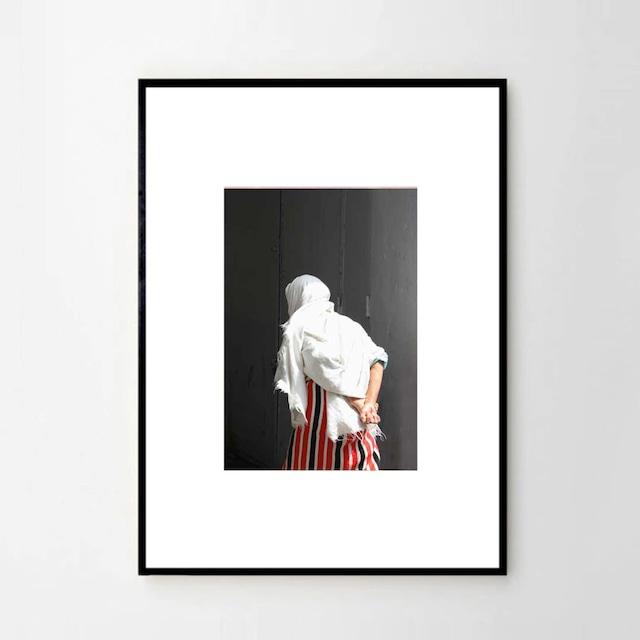 """MARIE BASTIDE / フォト+フレーム32cm×45 cm """"La femme du Rif"""""""
