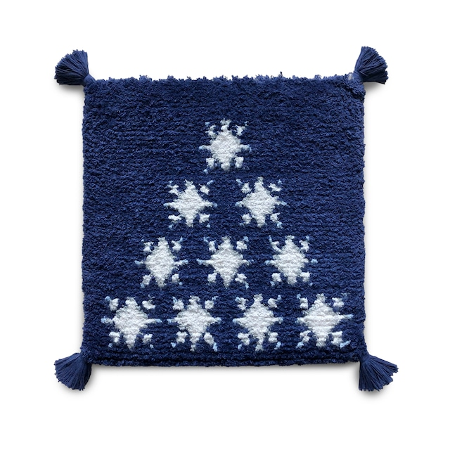 【受注生産】雪の星(紺、白、灰、水)