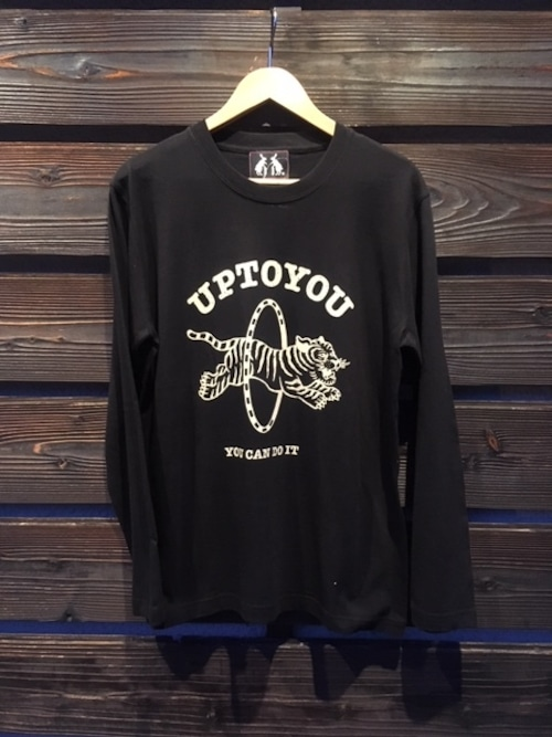 UG.  UP TO YOU L/S  Black  Mサイズ