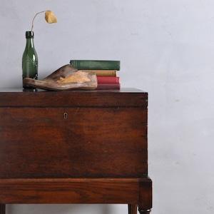 Box On Stand / ボックスオンスタンド 〈ツールボックス・ウッドボックス・サイドテーブル・収納家具〉1712-A05010224