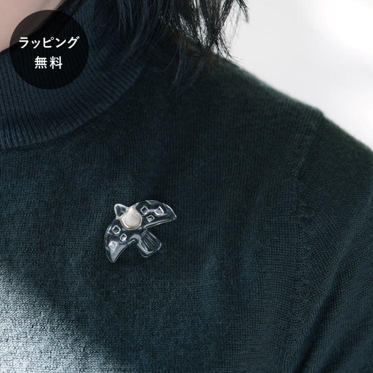 ハリオ HARIO ブローチ バード aa-0142
