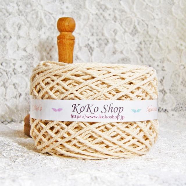 §koko's Selection§ カポック100%糸 大玉 110g  約70m マクラメ糸 編みバッグ オーガニック 撥水