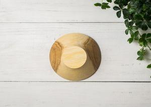 クヌギ材 サラダボウル S 2(グリーンウッドターニング・木の器・生木の器)/Canaria Wood Works