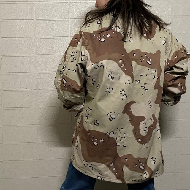 80s CHOCO CHIP CAMO military shirt