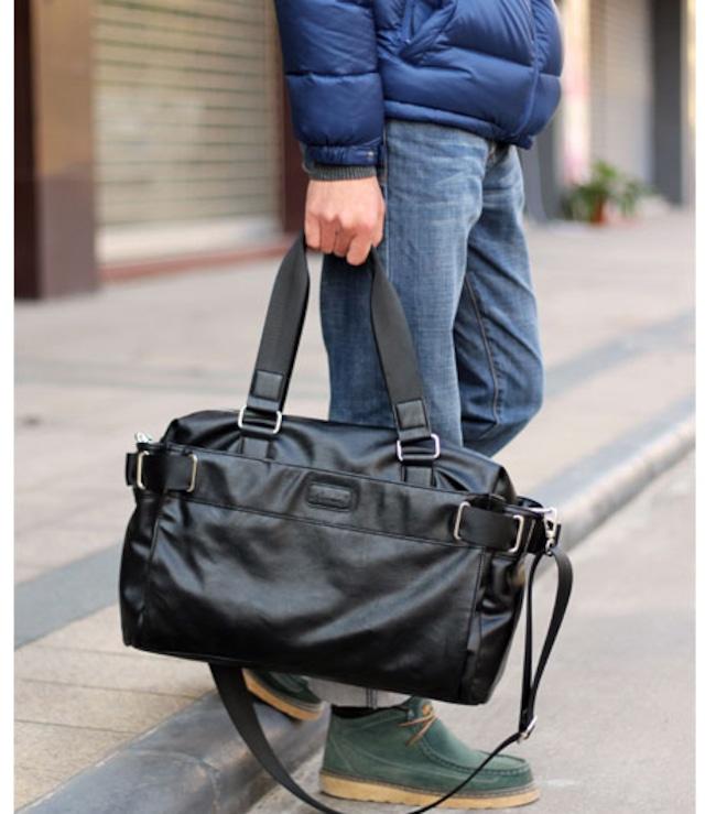 ショルダーバッグ レザー 革 メンズ  メッセンジャーバッグ 軽量 旅行 bag-295