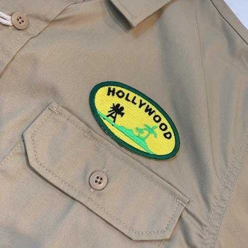 PATCHIES 【ワッペン】 HOLLYWOOD ハリウッド ワークシャツ