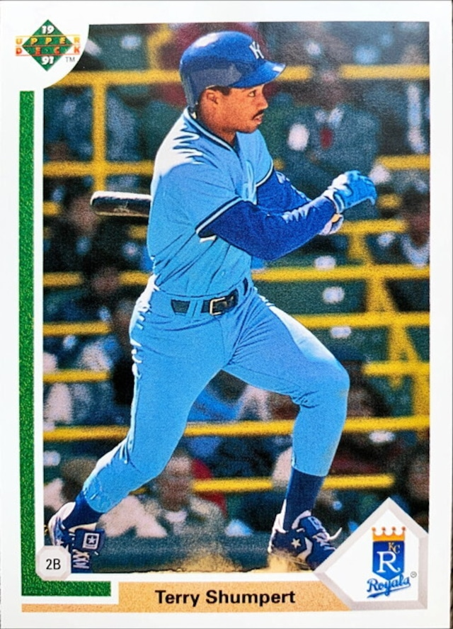 MLBカード 91UPPERDECK Terry Shumpert #521 ROYALS
