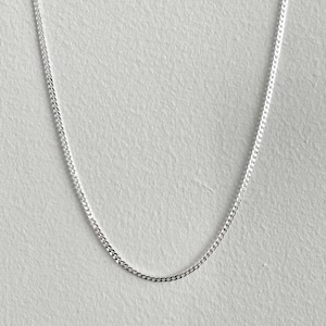 【SV1-53】20inch silver chain necklace