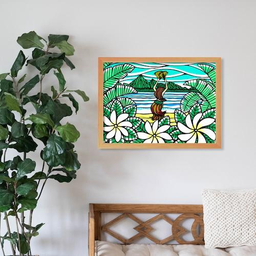原画 A3(Tahitian Dancer)