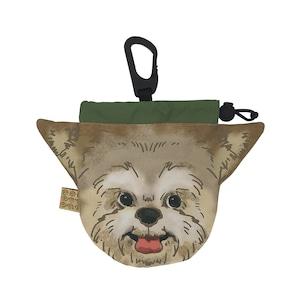 犬のウンチバッグ S【ヨークシャテリア】防臭生地 / デオドラント加工布使用