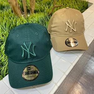 NEW ERA/9THIRTY ニューヨーク・ヤンキース ノンウォッシュコットン
