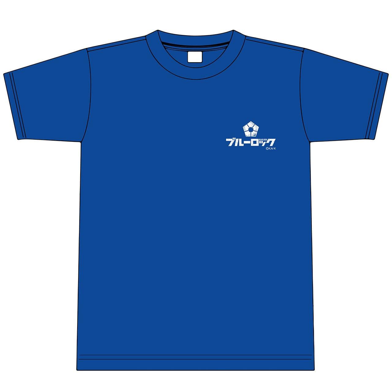 【4589839367103予】『ブルーロック』(原作) ロゴTシャツ L