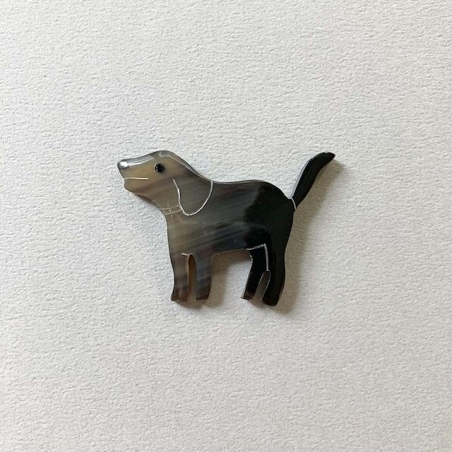 シェル箸置き 犬(ブレーメンの音楽隊)