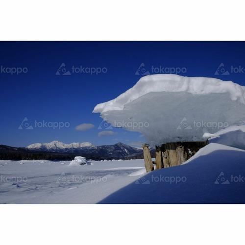 キノコ氷糠平湖