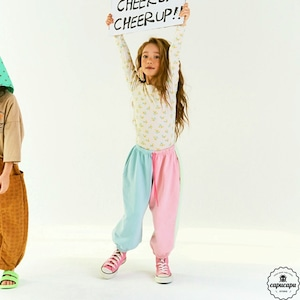 «sold out» Cotton candy pants 2colors  わたあめジョガーパンツ