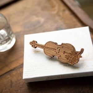 cello / しずかに奏で(Brooch)