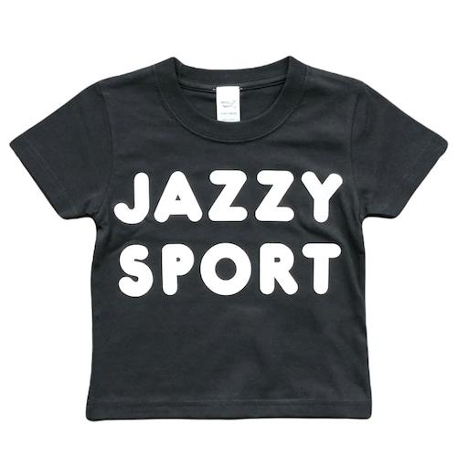 """JS """"Americana"""" ロゴ キッズ Tシャツ/ビンテージ ブラック"""
