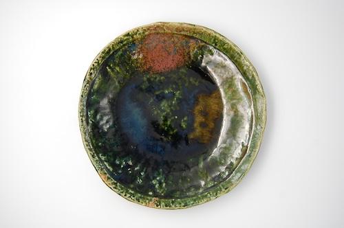 ◆受注生産◆  総織部8寸深皿 オーダーメイド対応品