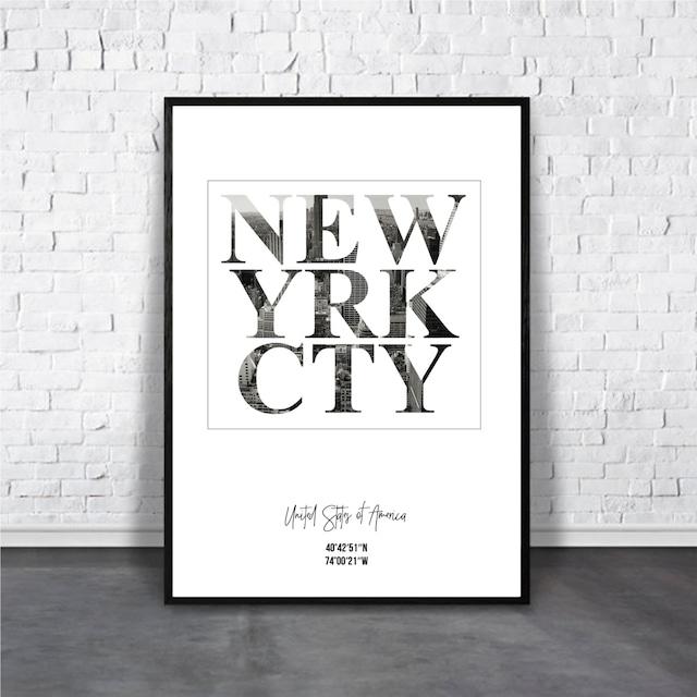 N.Y.C / 【アートポスター専門店 Aroma of Paris】[AP-000060]