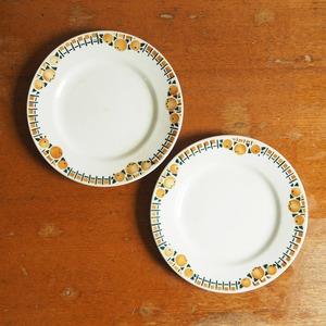 St-Amand(サンタマン)のオレンジのデザート皿