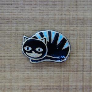チェシャ猫(帯留・ブローチ)