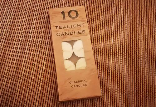 tea light candle 10個入り