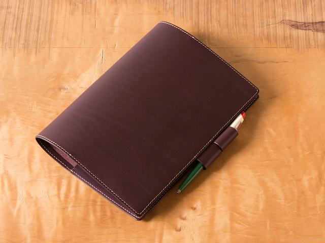 手帳カバー A5サイズ バタフライストッパー