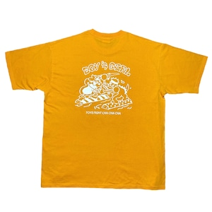 Toys fight tee(Yellow)
