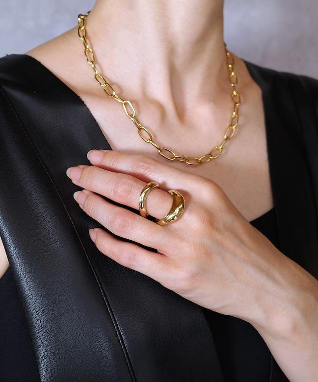 【blanc iris/ ブランイリス】Casablanca  collection Vermeil Ring  / リング