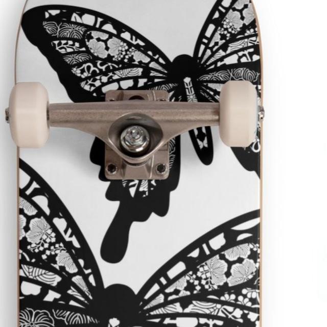 ブラックバタフライ スケートボードコンプリートセット CCS