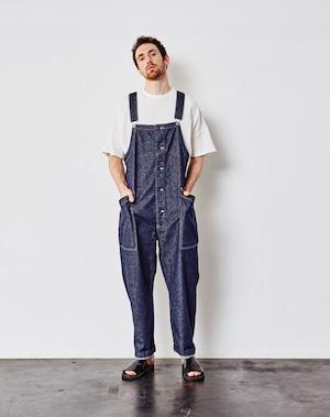 【HARVESTY】DENIM CLOTH OVERALLS (UNISEX) オーバーオール デニム サロペット 国産 日本製 ハーベスティ