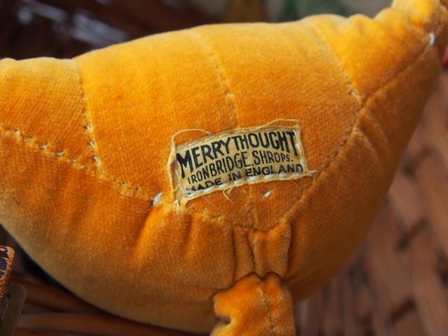 イギリスアンティーク ダックスフント(Merrythought)