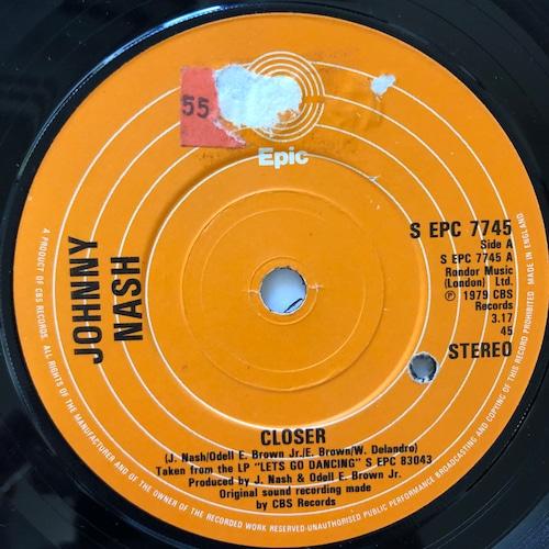 Johnny Nash - Closer 【7-20603】