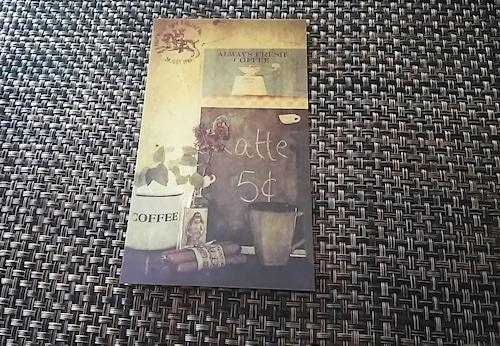 coffee  ポストカード