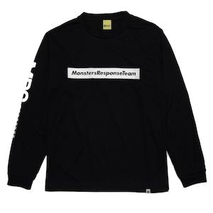 速乾ロングスリーブTシャツ(ブラック)