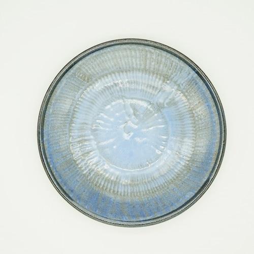 スリップウェア 6.5寸皿【唐仙窯】