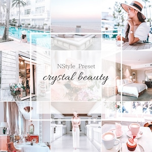 【Crystal beauty クリスタルビューティー】おしゃれ 写真加工フィルター Lightroomプリセット