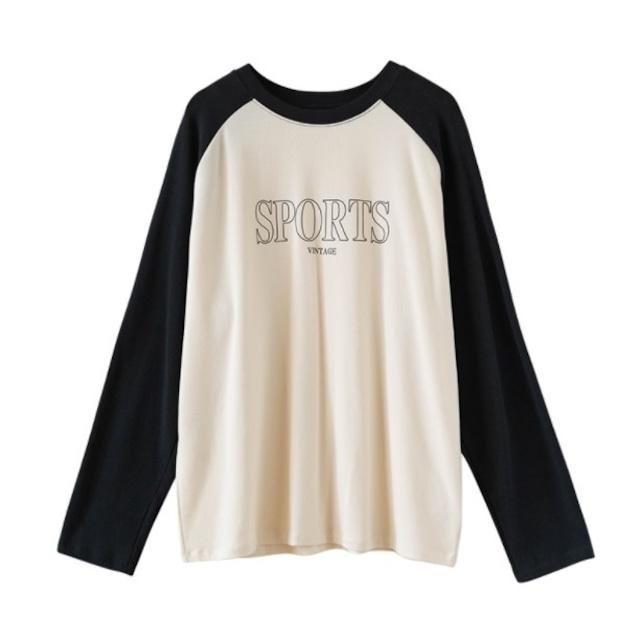 Two-tone sports shirt(ツートーンスポーツシャツ)b-488