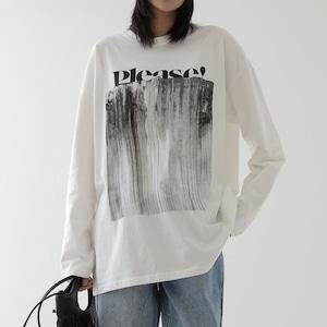 Letter design shirt(レターデザインシャツ)b-050