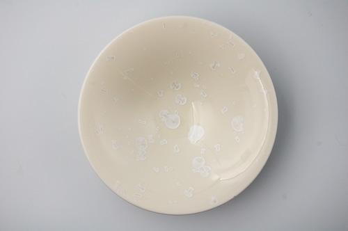 ◆受注生産◆結晶釉耀華平鉢 安藤寛泰作