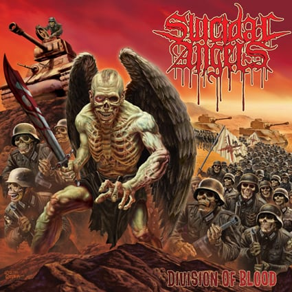 """SUICIDAL ANGELS """"Division Of Blood"""""""