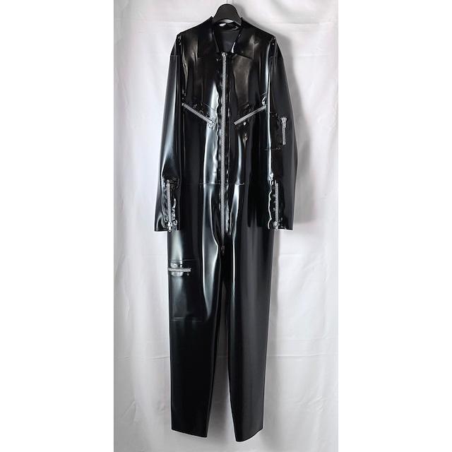 【放出品】BLACKSTYLEラバーメンズジャンプスーツ