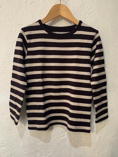 KIDS/ocean&ground/ボーダークルーネックTシャツ 150,160㎝