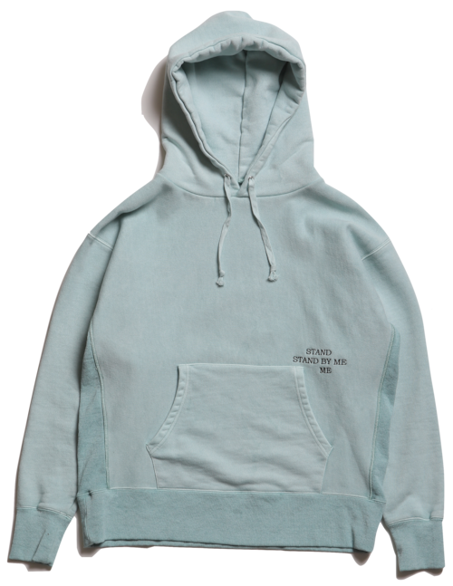 """CC""""STAND BY ME"""" HOODY -FADE GREEN-"""