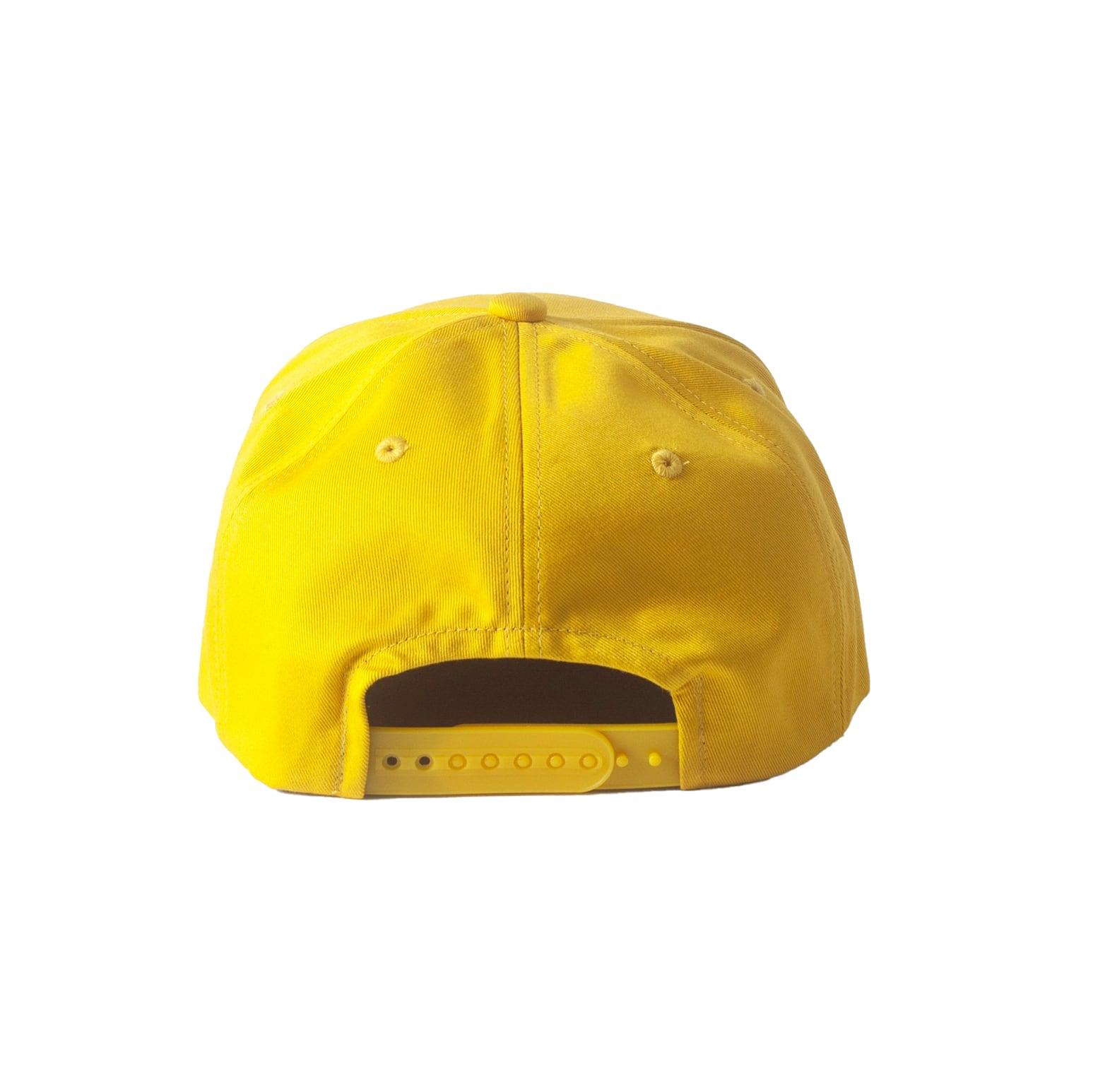 NEW COMMUNE 5 PANEL CAP / YELLOW - 画像2