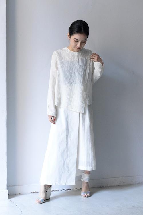 ROOM211 / Stripe JQ blouse