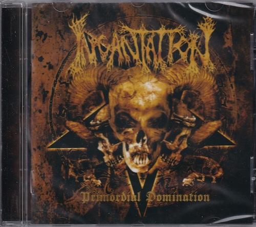 INCANTATION 『Primordial Domination (Re-issue)』