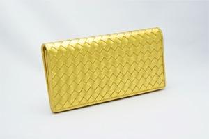 長財布(薄型)金箔メッシュ・プレミアム