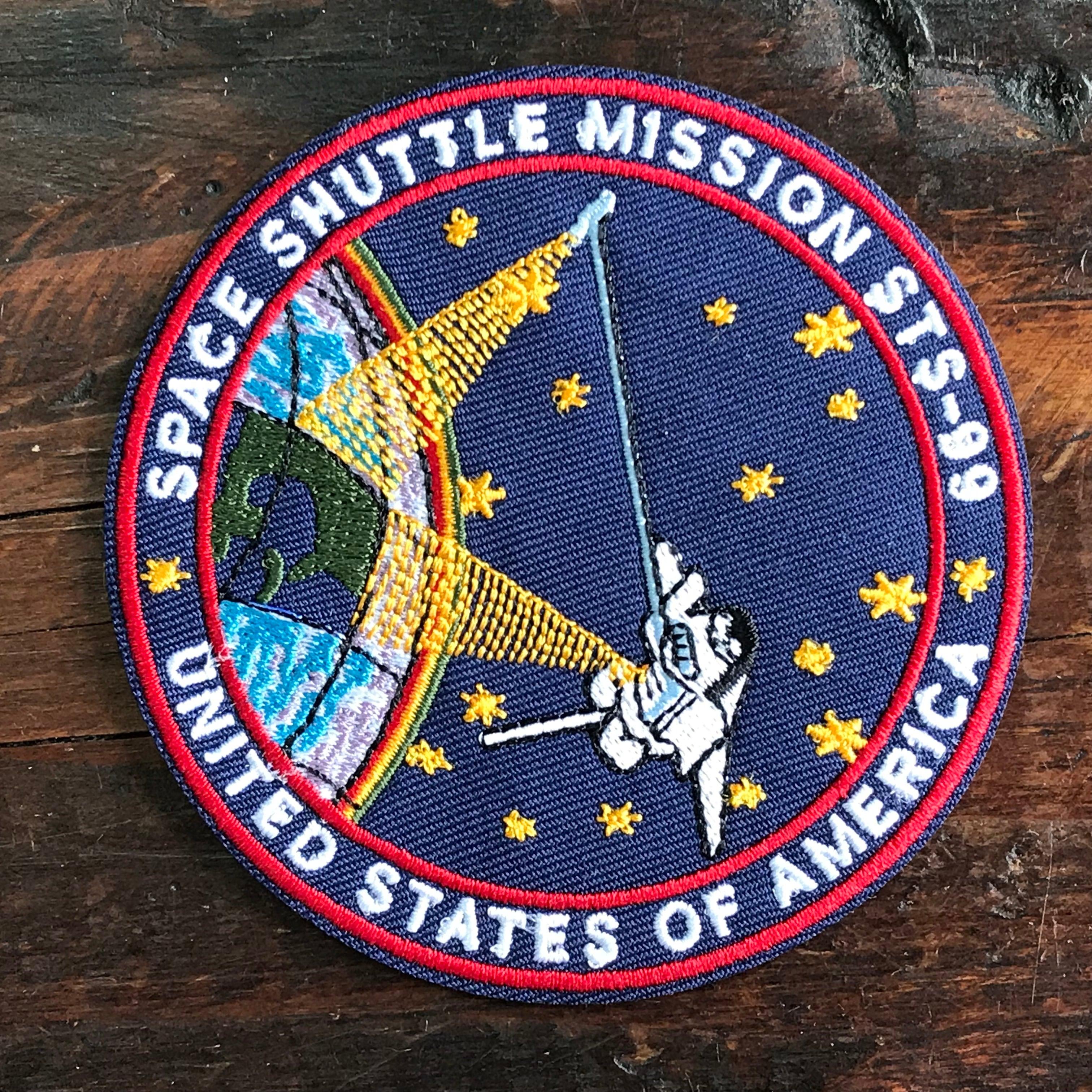 NASA公認(アメリカ航空宇宙局)ワッペン・アップリケ・スペースシャトルミッション・STS-99